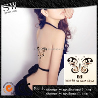 Classic Butterfly Temporary Transfer Water Tattoo