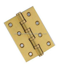 Professiona brass plated piano hinge for great price