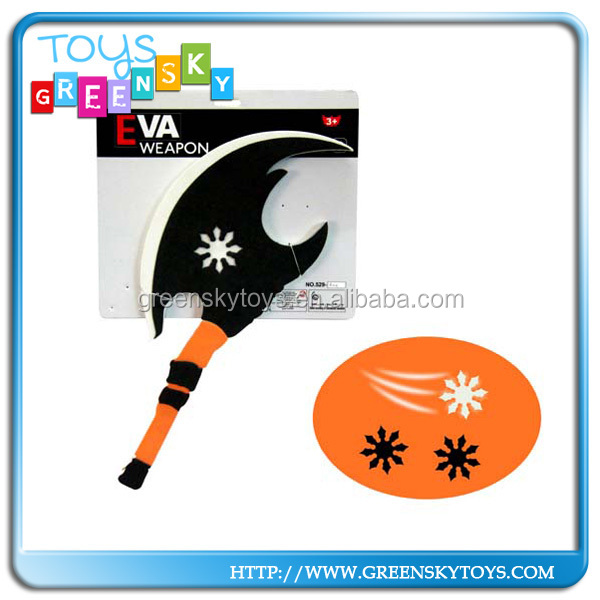 Kids Funny Pu Foam Weapon EVA Axe Toys For Sales
