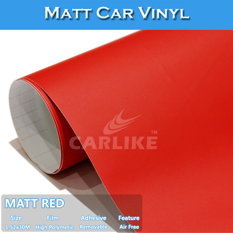 Top Quality C9003 Matt Red Color Changing Adhesive Wrap Vinyl