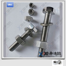 Duplex S32750. S31803. S32760 fasteners hex bolt and nut 2507. 2205. Zeron100