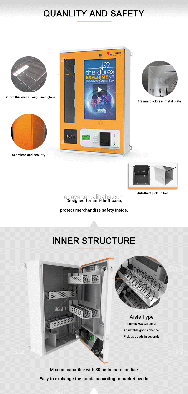Factory Outlet Indoor Vending Machine