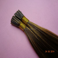 wholesale brazilian remy i-tip hair extensions #4/27