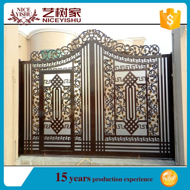 Indian House Aluminum Main Gate Designs /2016 Decorative Cast Aluminum  Garden Gates Iron Courtyard Gate, View Aluminum Door, YISHUJIA Product  Details From ...