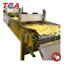 Potato chips process line automatic potato chips cutting machine best oil for frying