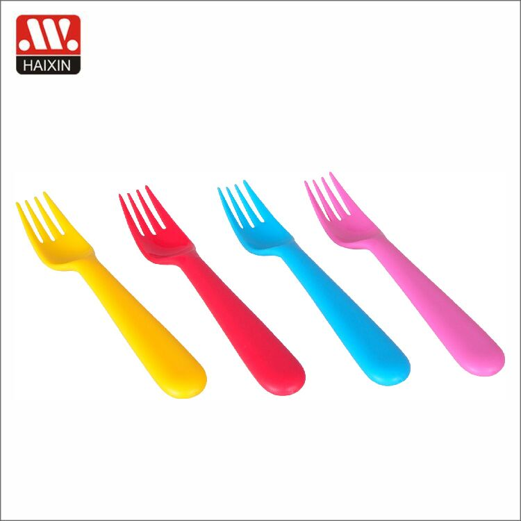 Disposable color customised camping usage plastic fork spoon knife in one