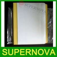 New Sublimation Blanks PU Leather Case Cover for iPad 2 with Stand