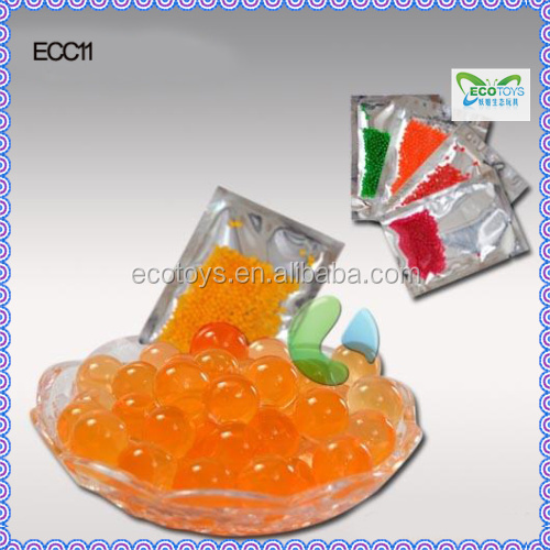 In Bulk Water Growing Jelly Beads Orange Gel Orbeez 12 color 5 size