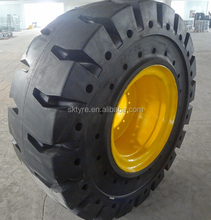 Solid OTR tires for wheel loaders for VOLVO, CAT, LIEBHERR, heavy duty truck solid OTR tires.
