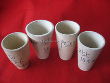 LAB CRUCIBLE FOR GOLD ASSAYING Ceramic Fire Clay Fire Assay Crucible