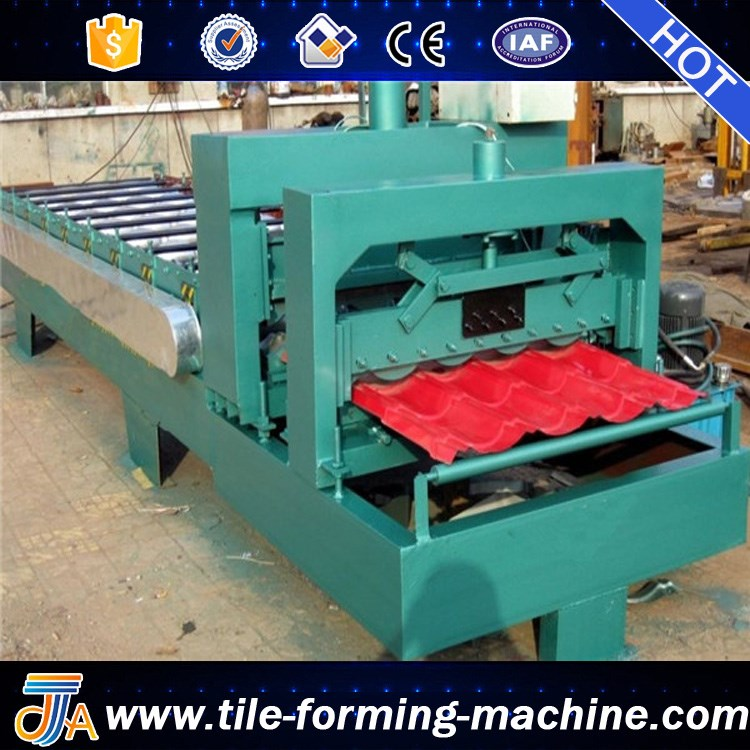 aluminum roofing sheet making machine steel glazed roof tile making machine hot new roll forming machine products for bello lin