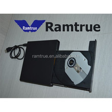 Slim Portable Laptop USB 2.0 External Optical DVDRW/DVD Burner Drive/bluray writer