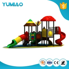 Manufacturers cartoon style children movement mini playground slide for outdoor