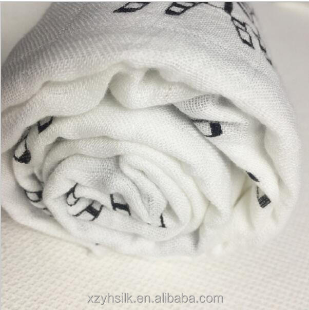Muslin Bear Newborn Swaddle High quality Baby Multi-use 30%cotton 70%Bamboo jacquard Bamboo Blanket