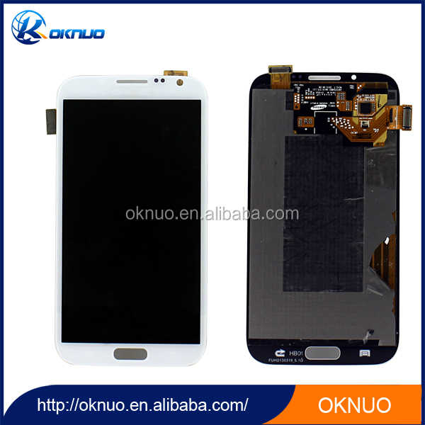 Best distributor screen digitizer display for samsung galaxy note 2 n7105 lcd with digitizer