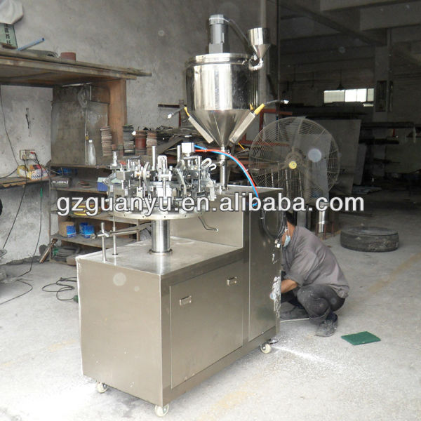 Semi-auto Aluminum Tube Filling And Sealing Machine