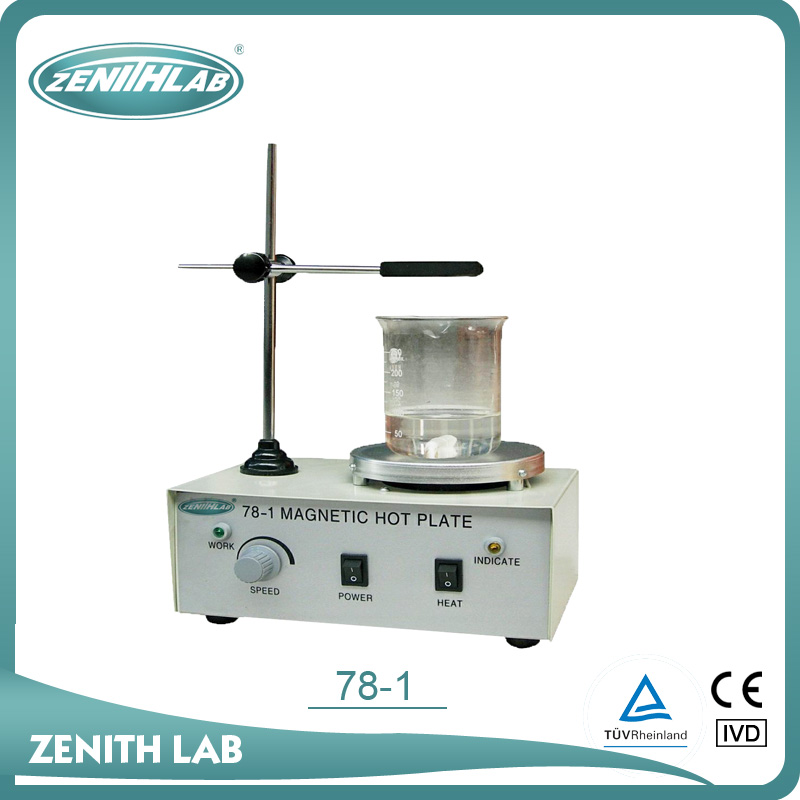 cheap hot plate laboratory Magnetic Heating Stirrer 78-1