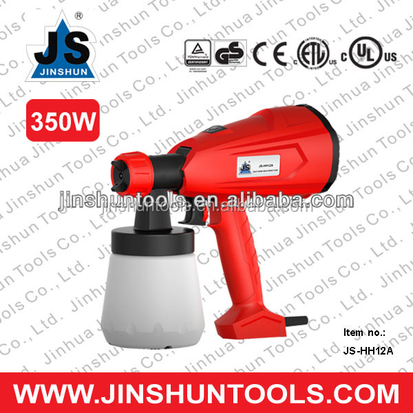 JS 350W Electric Power Mini Hand Held Painting Sprayer Machine Tools HVLP Spray Gun, JS-HH12A