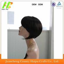 Top Quality Cheap 6 Inch Short Natural Wigs Brazilian Human Hair Wig For Black Women Factory Wholesale