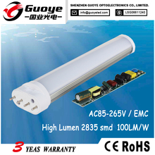 Factory direct replacement 2g11 led lamp 24w with warm pure white color
