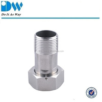 Stainless steel water meter couplings
