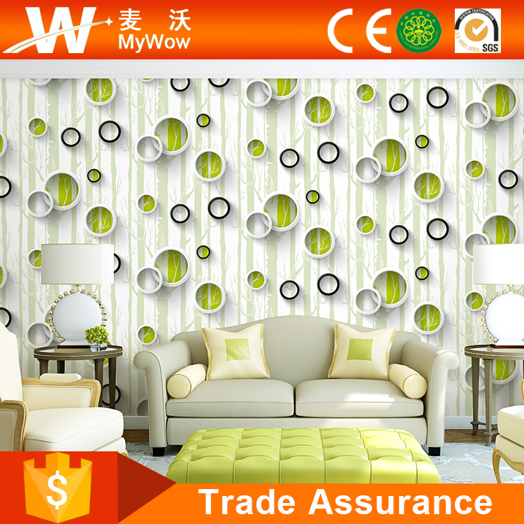 Wholesale bamboo design home decor wall wallpaper 2016 for Buy home decor online cheap