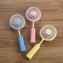 Manufacturer offer portable mini handheld fan speed control usb plastic hand desk fan