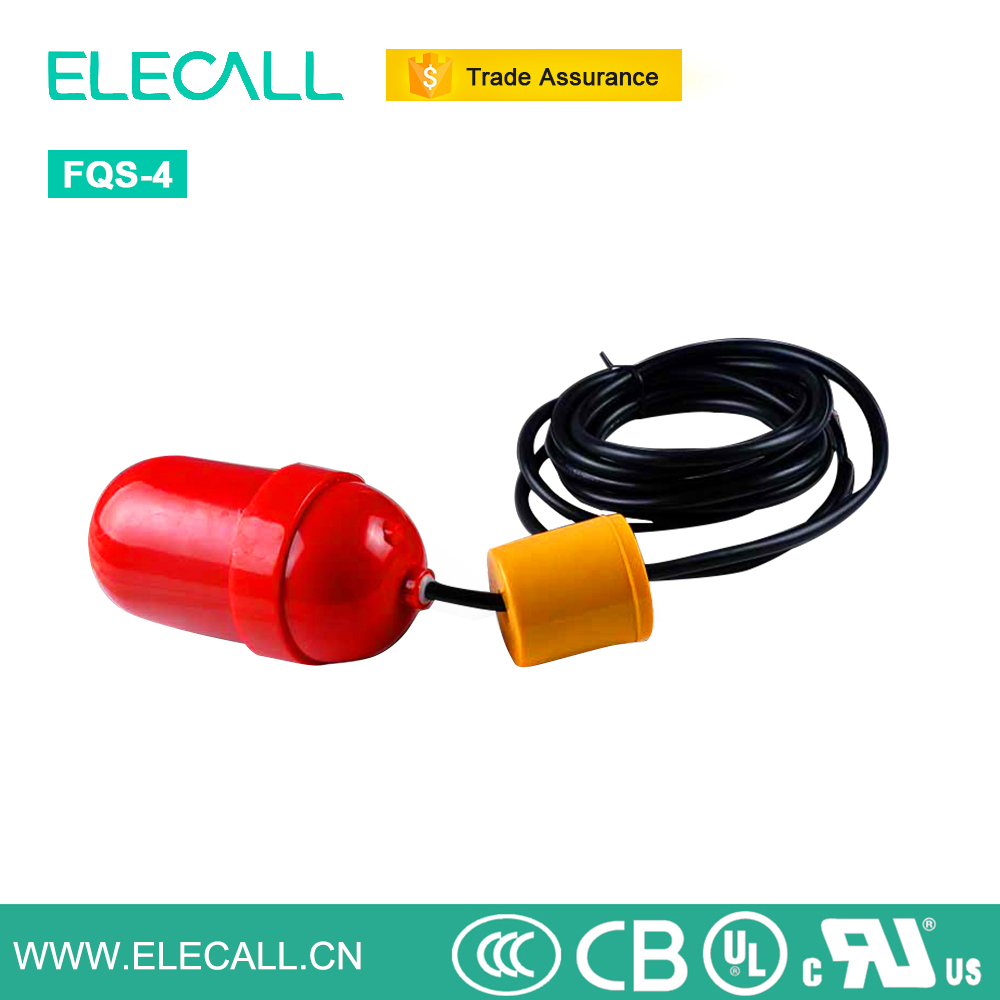 ELECALL EFQS-4 Cable Float Ball Water Level Switch
