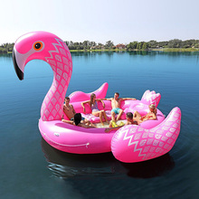 Giant 6 person Inflatable Unicorn Pool Toy Water Raft Lounge/ Unicorn Inflatable Floating Island