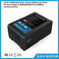 3.7v 12000mah battery 4S2P lipo battery pack for sony digital video camera