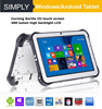 Simply T8 quad core 1.86Ghz 8300mah battery sunlight visible screen windows8 tablet pc with finger identification