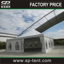 cheap aluminum canopy pagoda tent for outdoor mobile warehouse