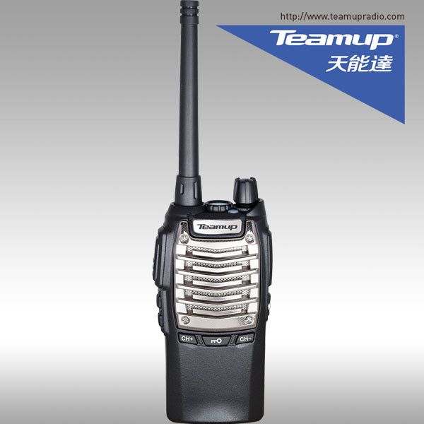 Teamup T9000 wireless mic two way radio single band UHF 16CH VOX long distance walkie talkie