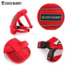 2017 New Design Protective Chest Plate Dog Harness Soft And Smart with Seat Belt