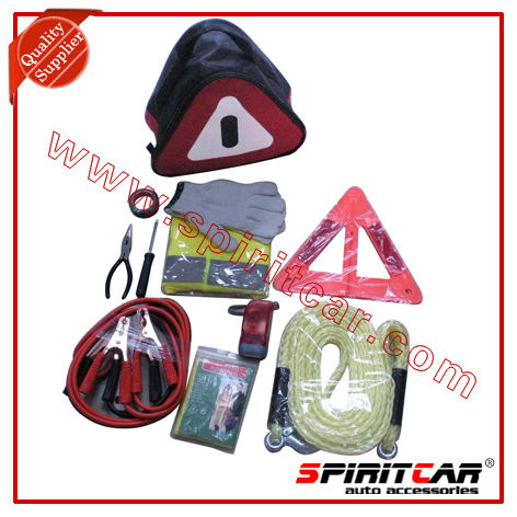 Car Emergency Kit Tools For Outdoor Roadside