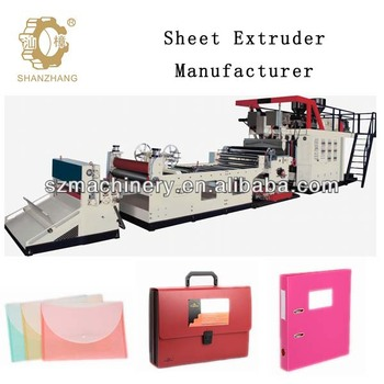 Extruder manufacturer make pp pe sheet,Adopt Siemens program control circui