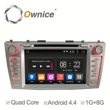 "7"" 2 din Ownice Quad Core Android 4.4 Auto GPS navi for Toyota Universal built in wifi gps radio"
