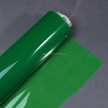 PVC Translucent colorful soft Film with glossy for raincoat material