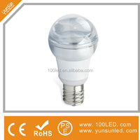energy saving 4.5w led bulb crystal appearance elegant design
