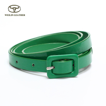Elegant Design Lady Pu Dress Fashion Belts Women