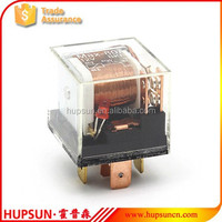 Auto electrical relay 5PIN 80A 12V transparent auto relay