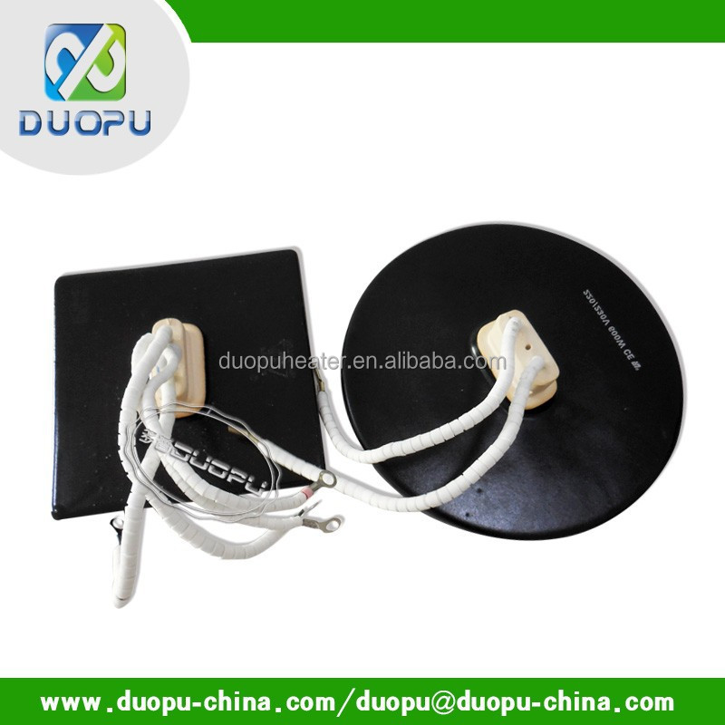 Electric infrared picture frame heater duopu