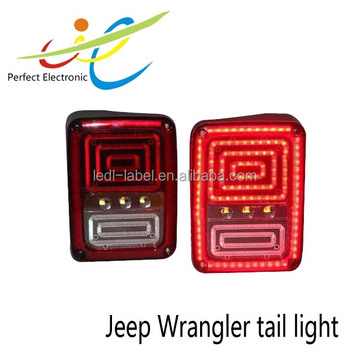 High performacne 18w LED tail light Auto tail light Jeep LED tail light