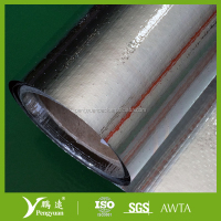 Aluminum Foil Coated Woven Fabric Roofing/Duct Vapor Barrier/Heat Resistance Insulation