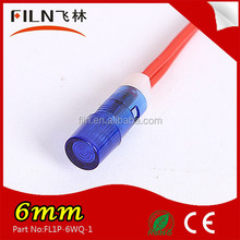 FILN brand signal lamp pilot lamp indicator light 24v voltage car led direction indicator with wire 100pcs/lot