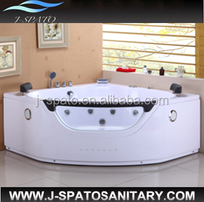 2014 High quality sanitary fittings price massage bath tube JS-8650