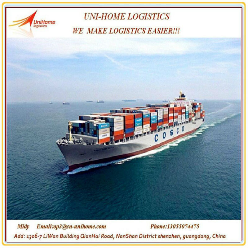 Sea freight service from China/shanghai/shenzhen/ningbo to Monterrey,Mexico