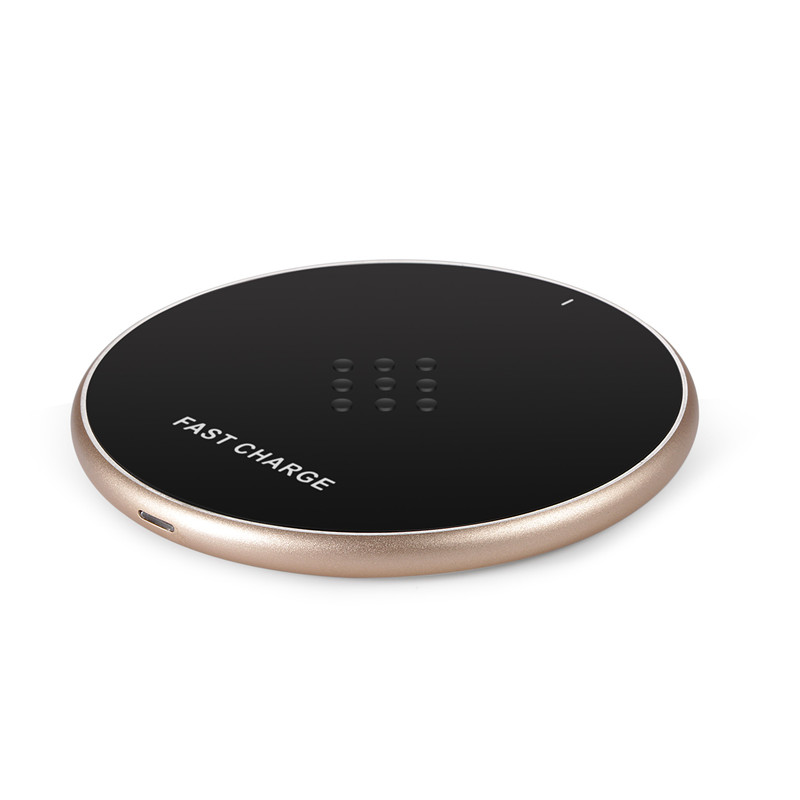 General desktop quick round universal Custom models wireless charger fast charging for sansung and for HTC