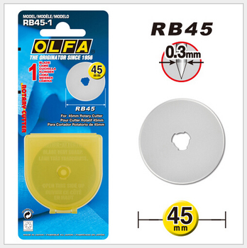 OLFA Rounded Blade RB45-10 for RTY-1/G RTY-1/DX45/C