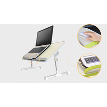 high quality foldable lap table laptop table stand portable laptop desk with cooling fan